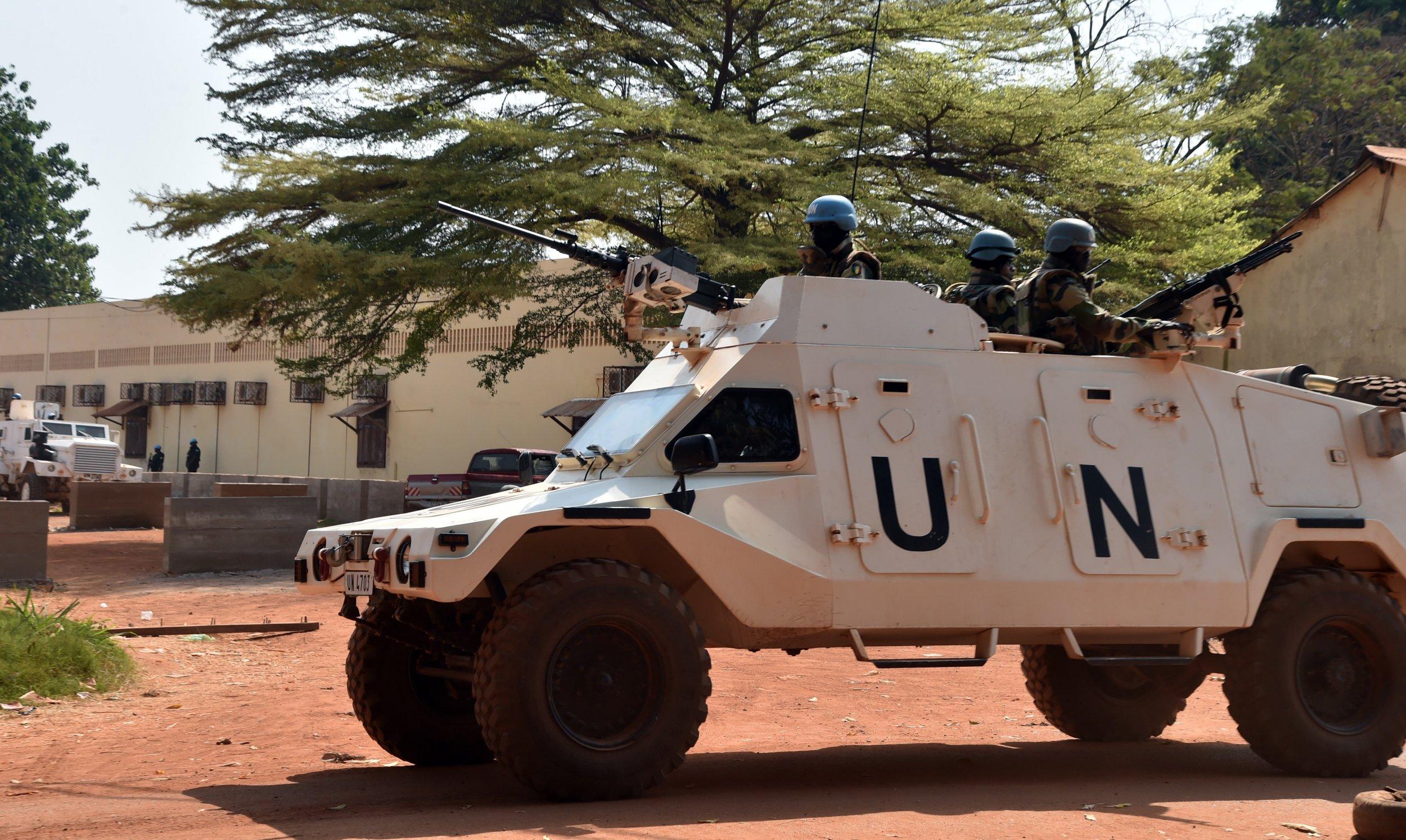 U.N. peacekeepers in Central African Republic