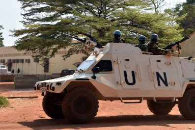U.N. peacekeepers in Central African Republic
