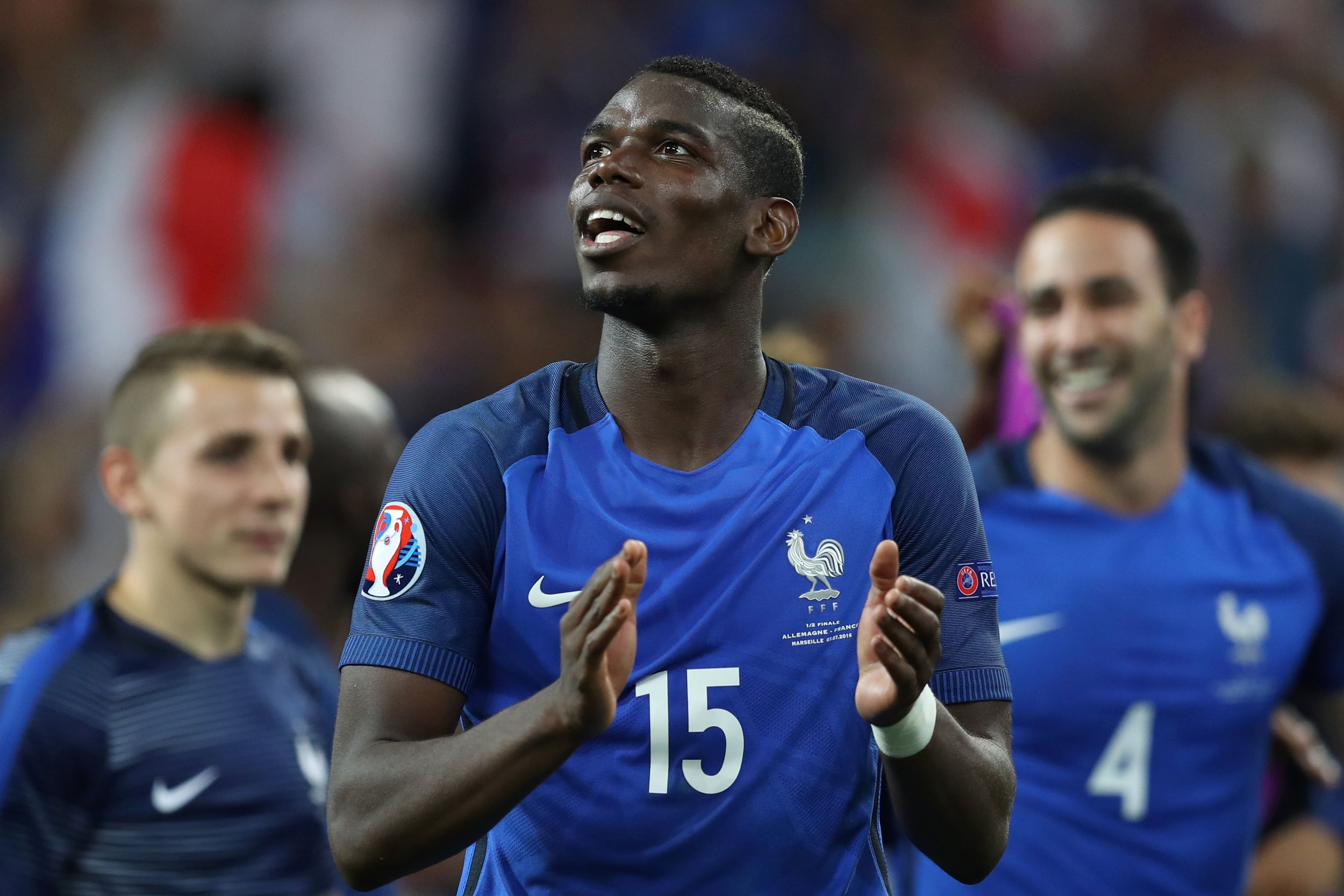 France and Juventus star Paul Pogba.