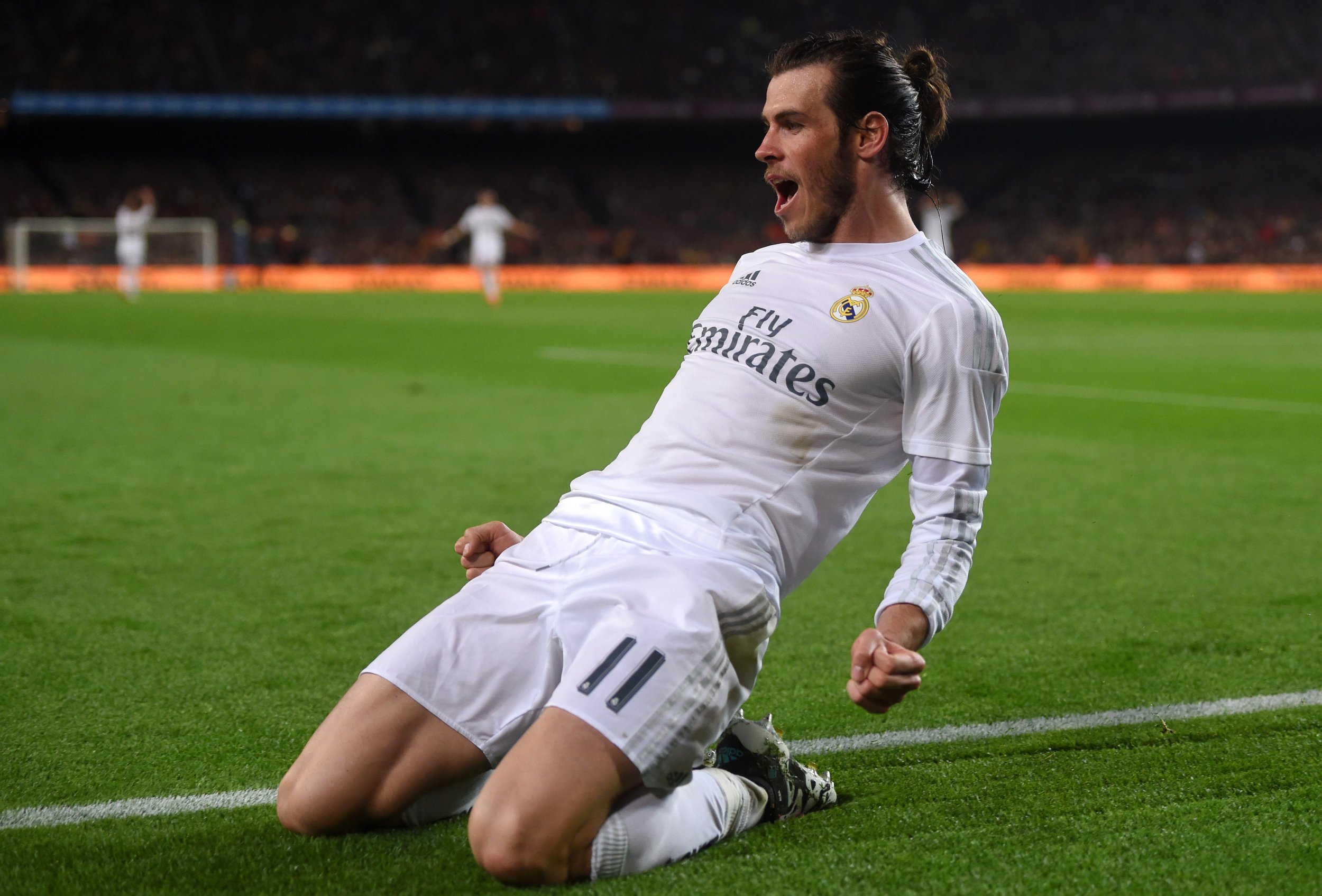 Watch Real Madrid Star Gareth Bale Posts Sensational Strike To