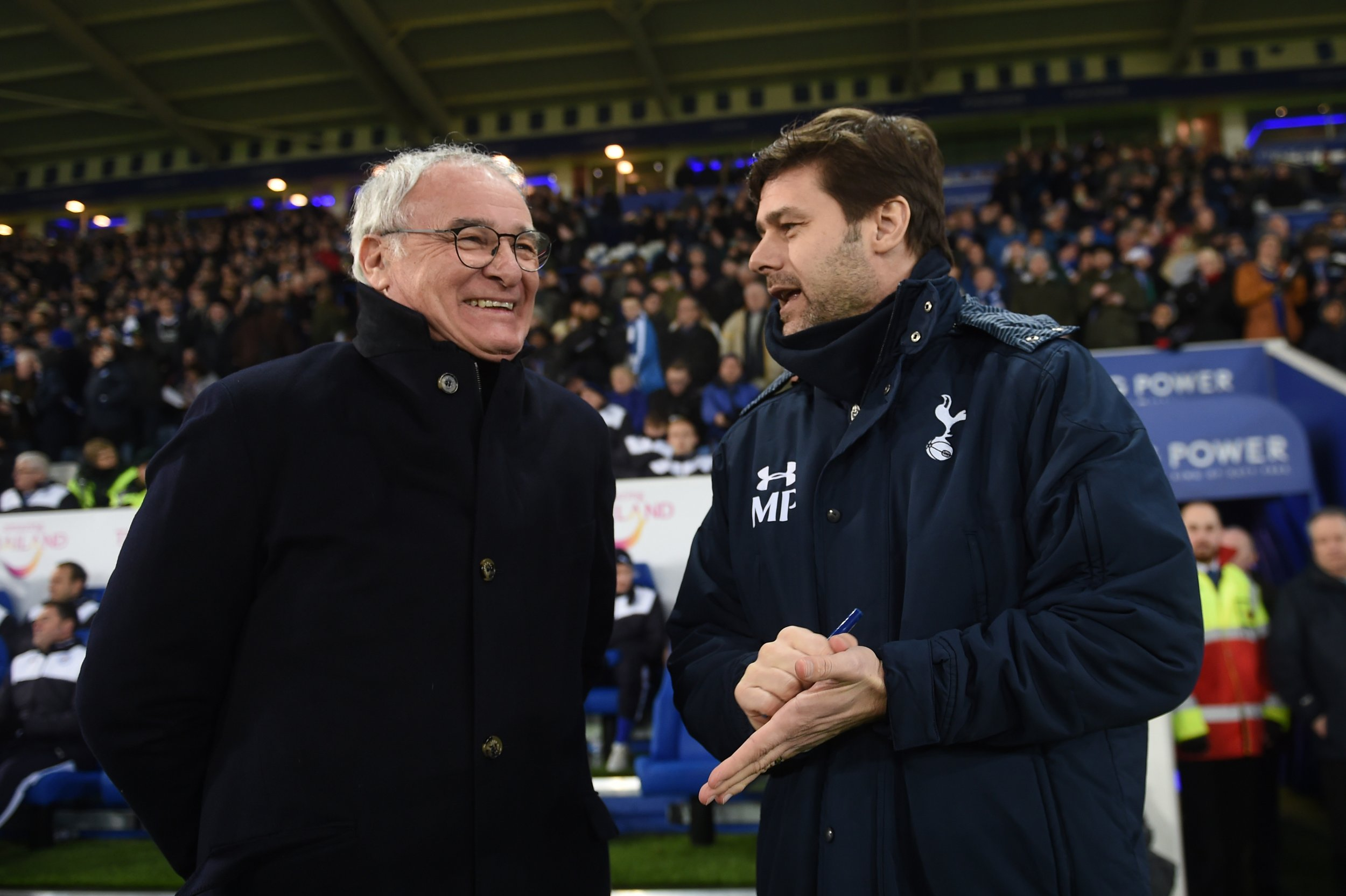 Claudio Ranieri and Mauricio Pochettino