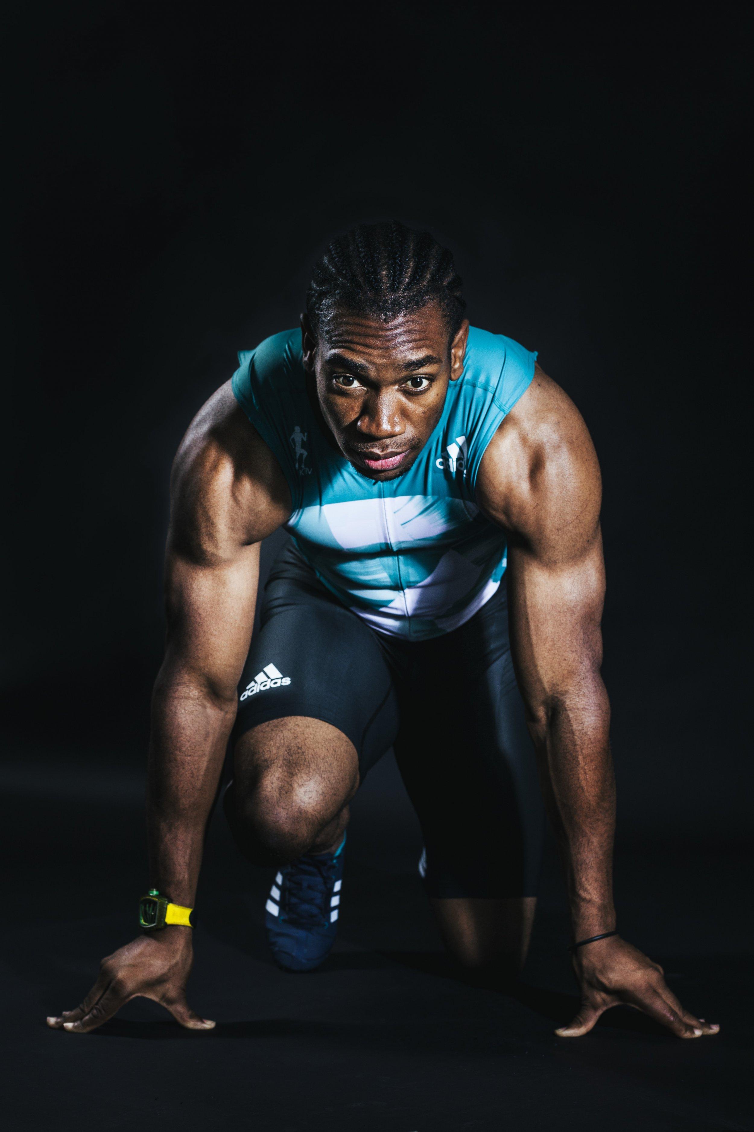 Yohan Blake, sprinter