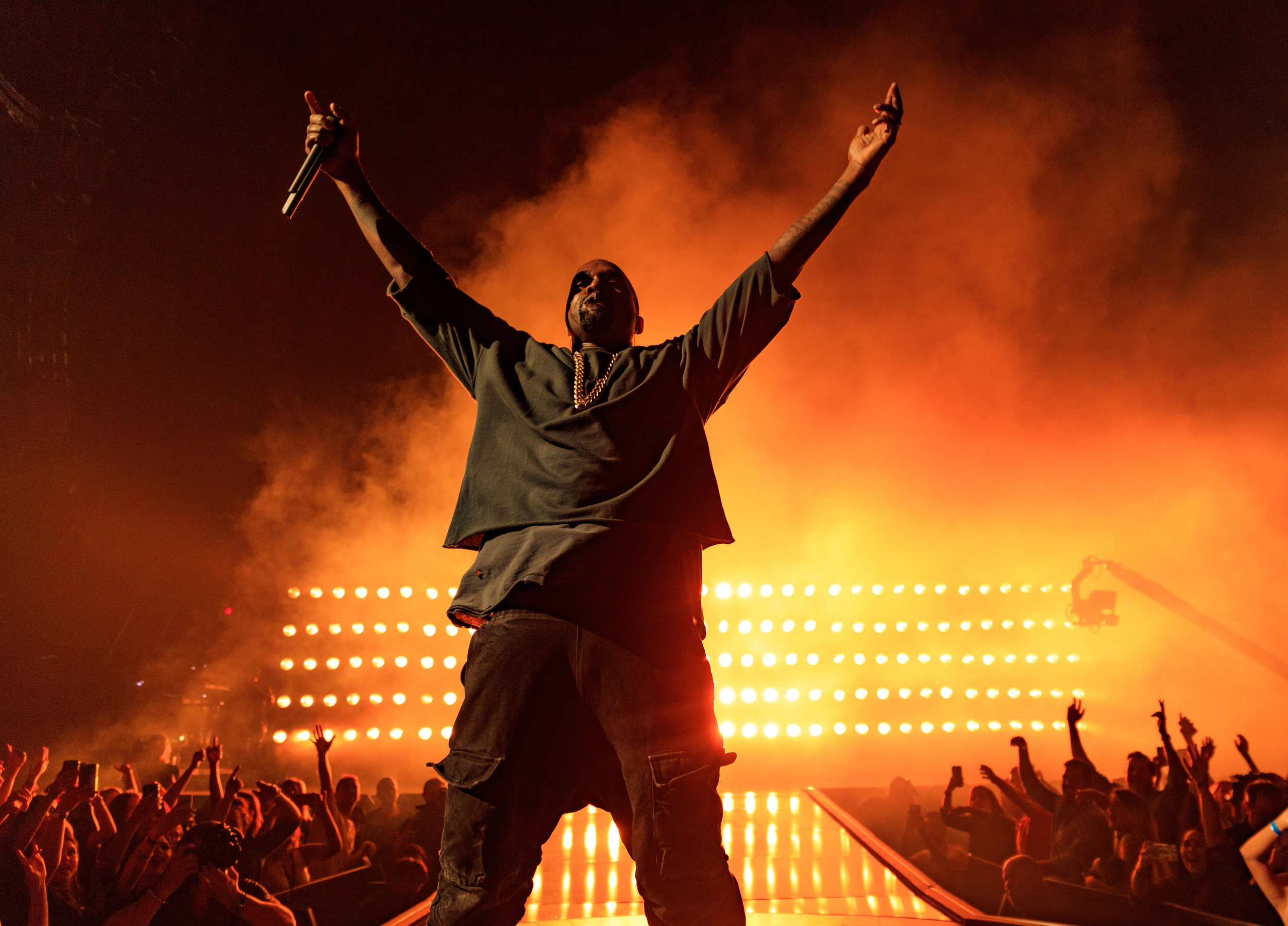 Kanye West in 2015
