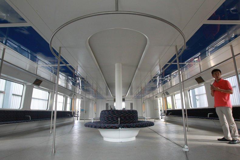 TEB Transit Elevated Bus China