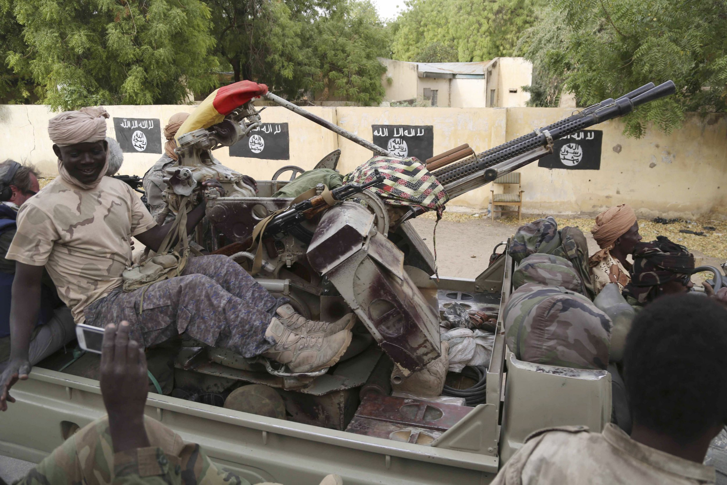 Boko Haram flags