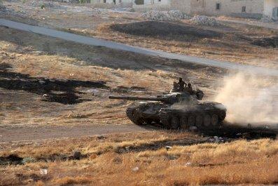 Aleppo tank