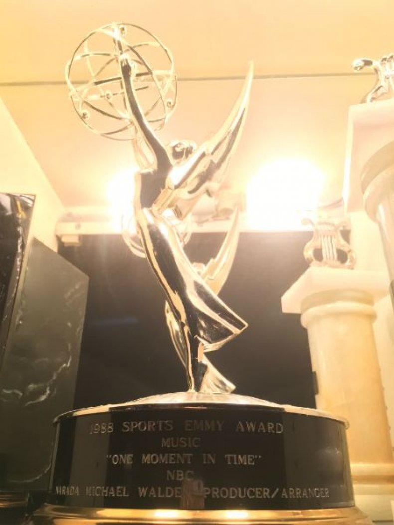 Emmy award for One Moment in Time
