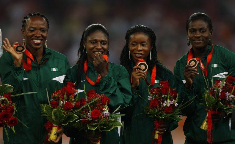 Nigeria bronze medallists