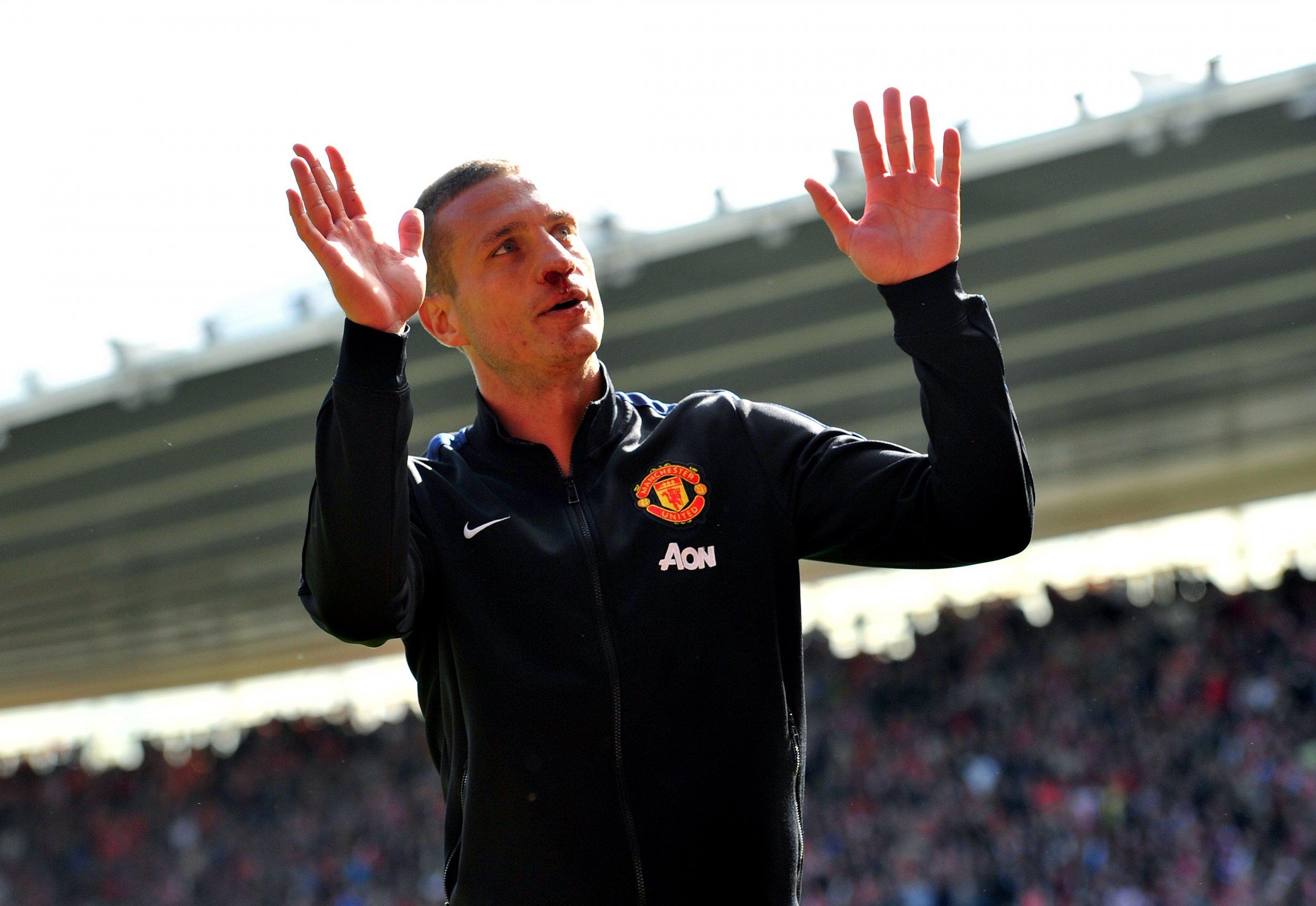 Former Manchester United defender Nemanja Vidic.
