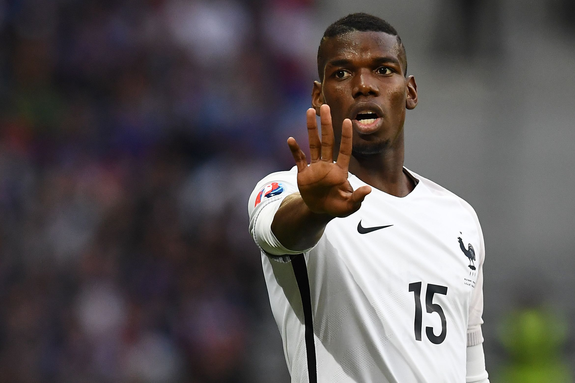 Juventus and France midfielder Paul Pogba.