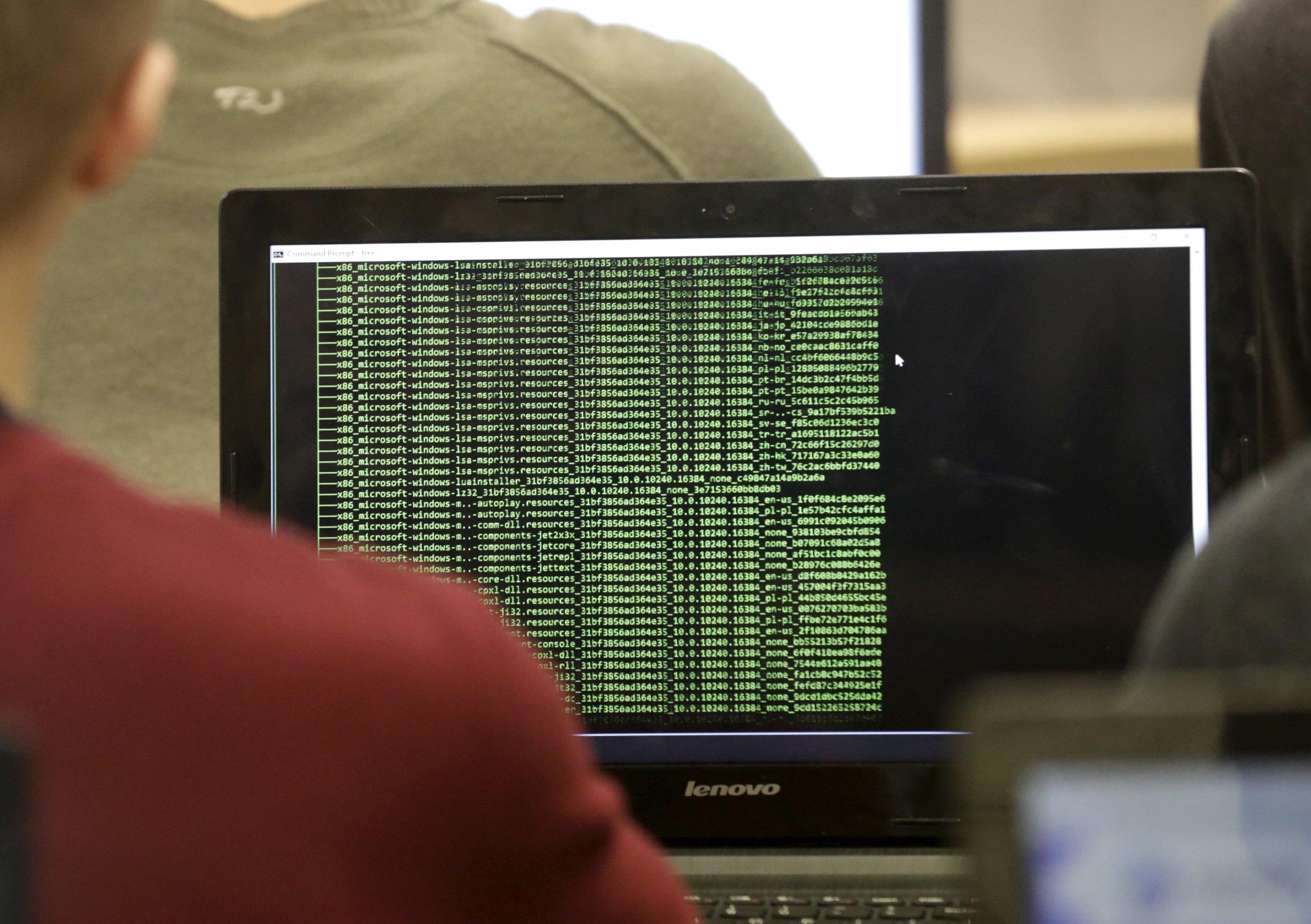 Cyber defense class in Estonia