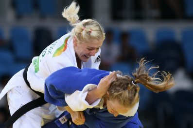 Ukraine Israel Olympics Judo