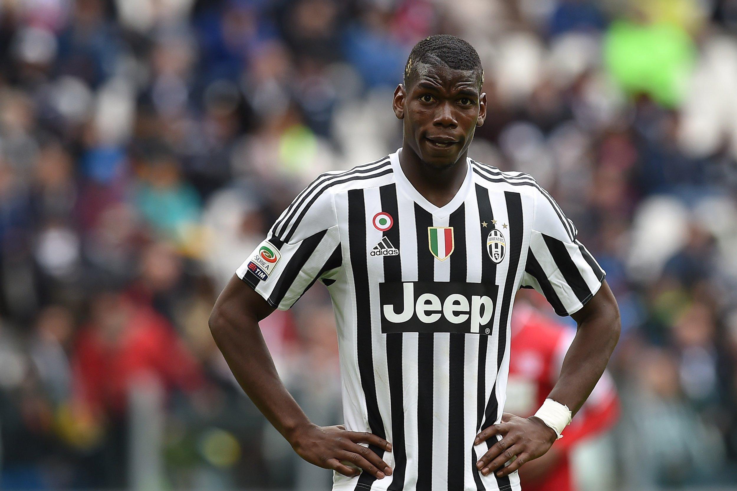 Former Juventus midfielder Paul Pogba.