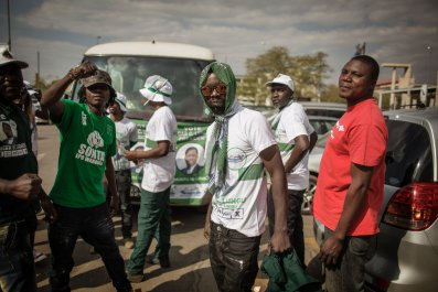 Edgar Lungu supporters