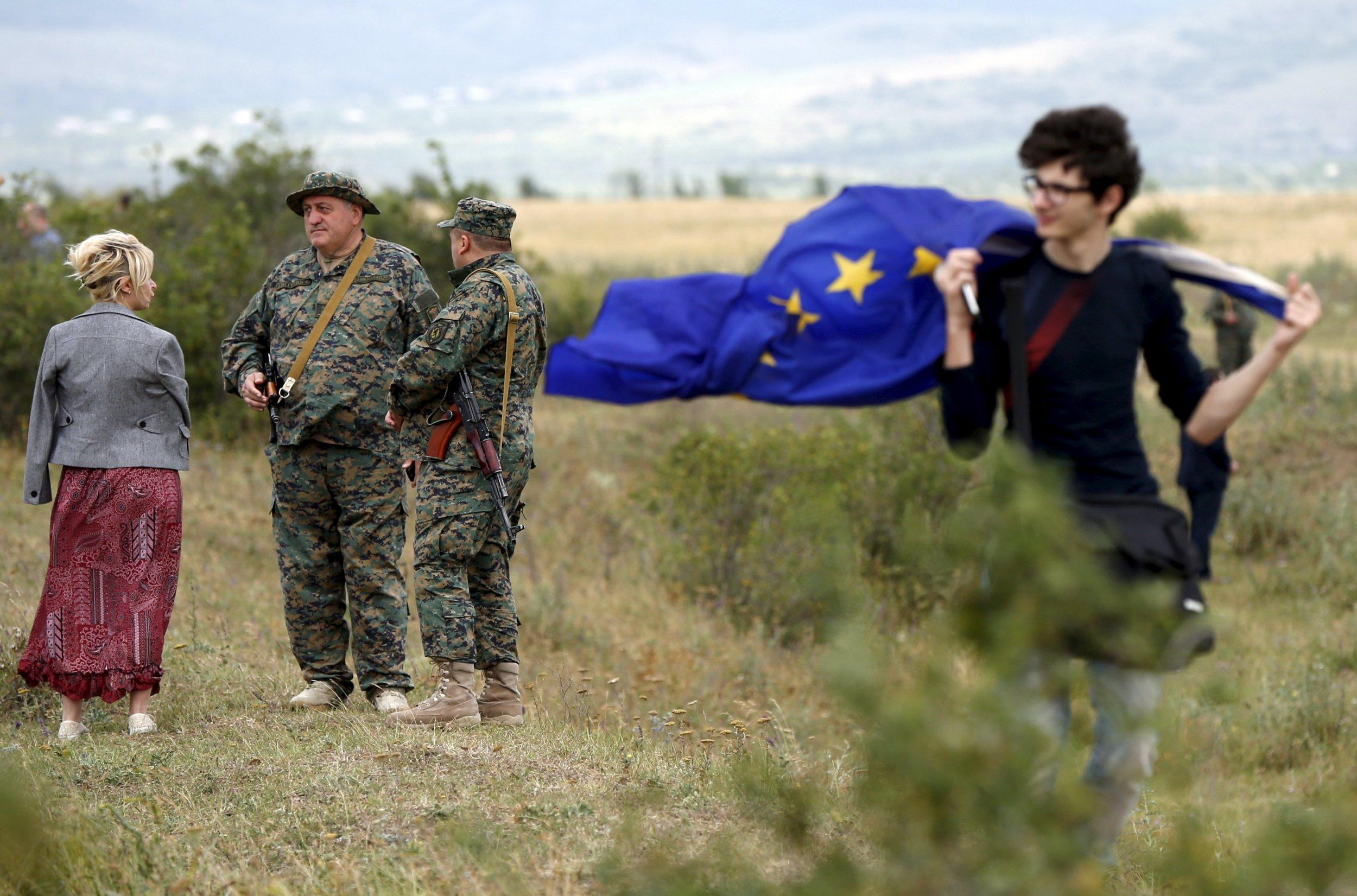 Georgia border South Ossetia