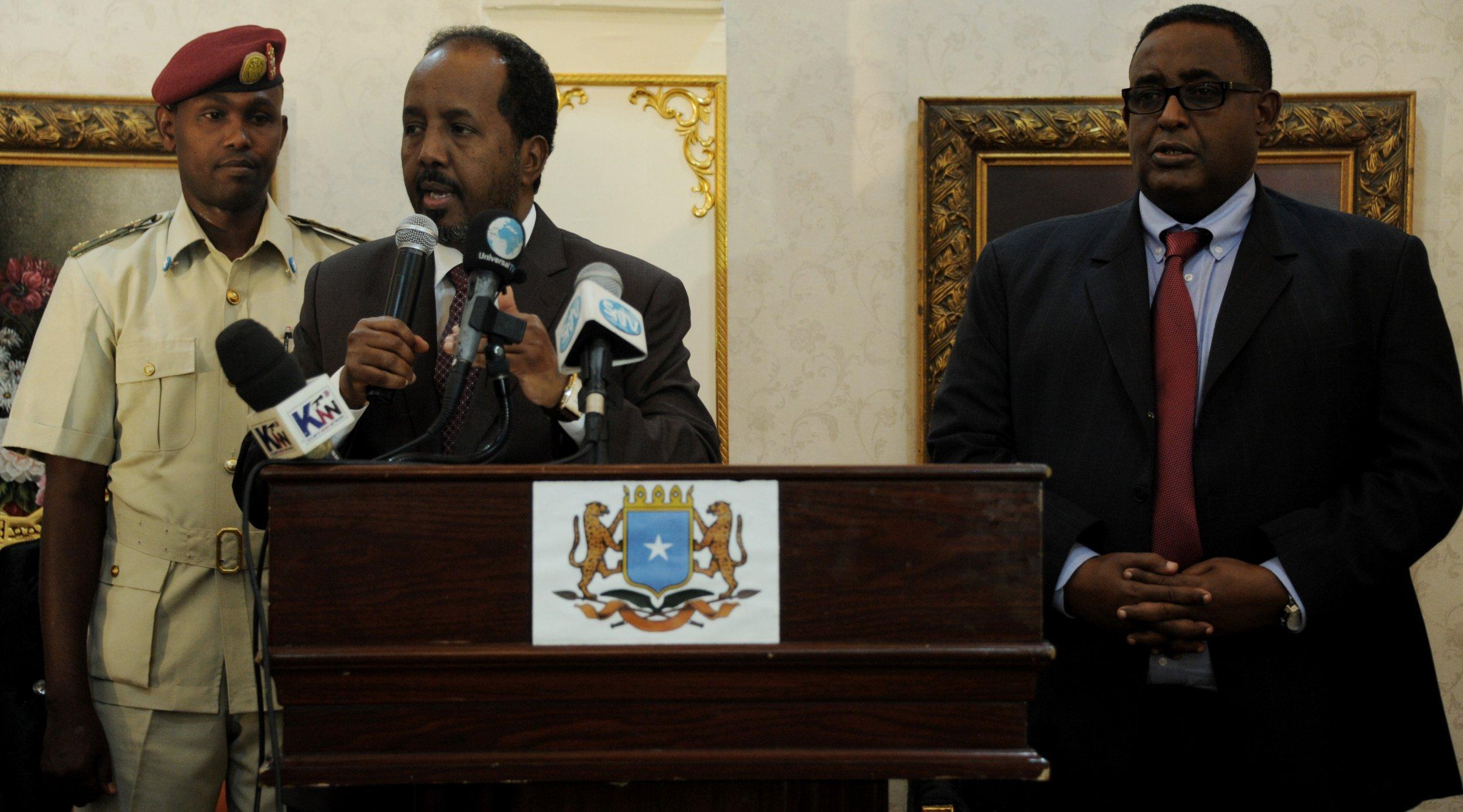 Somali president and prime minister