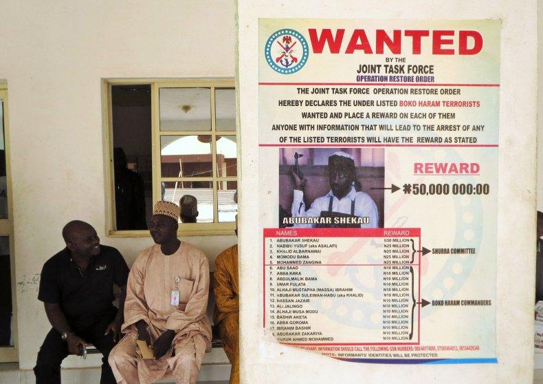 Abubakar Shekau poster