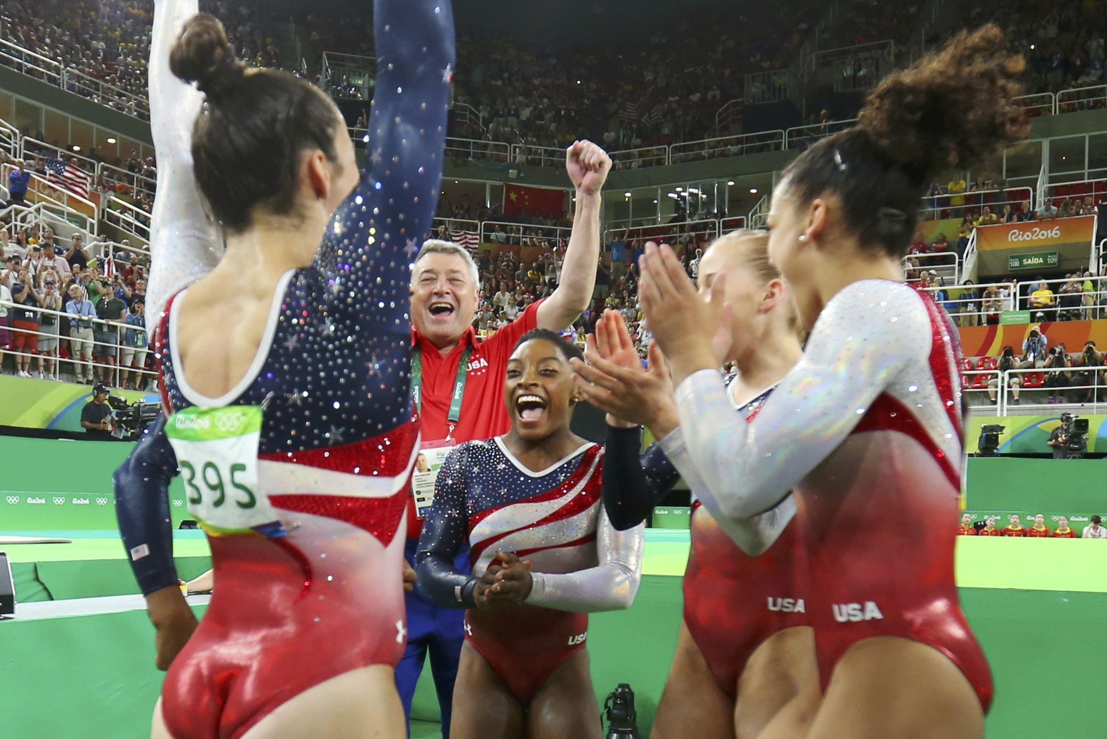 Rio 2016 Olympics U S Women S Gymnastics Team Dominates