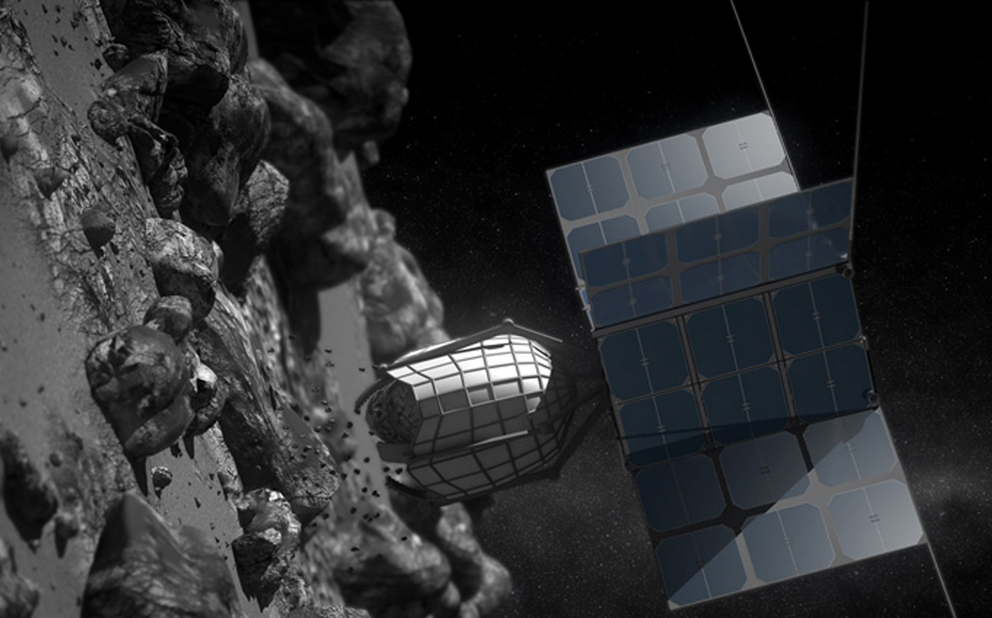 space asteroid mining prospector