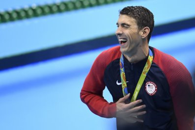United States swimmer Michael Phelps.