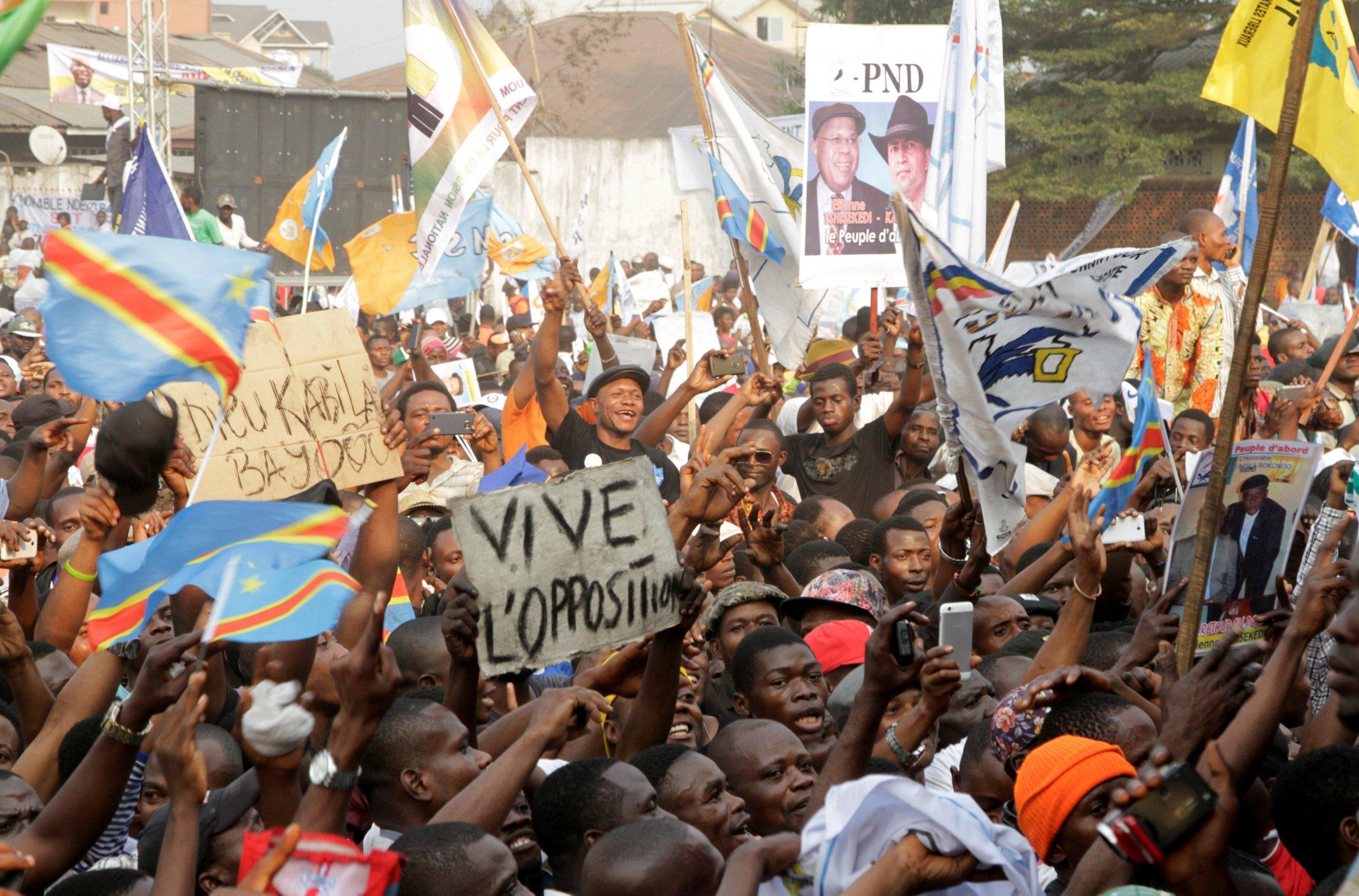 Congo opposition rally