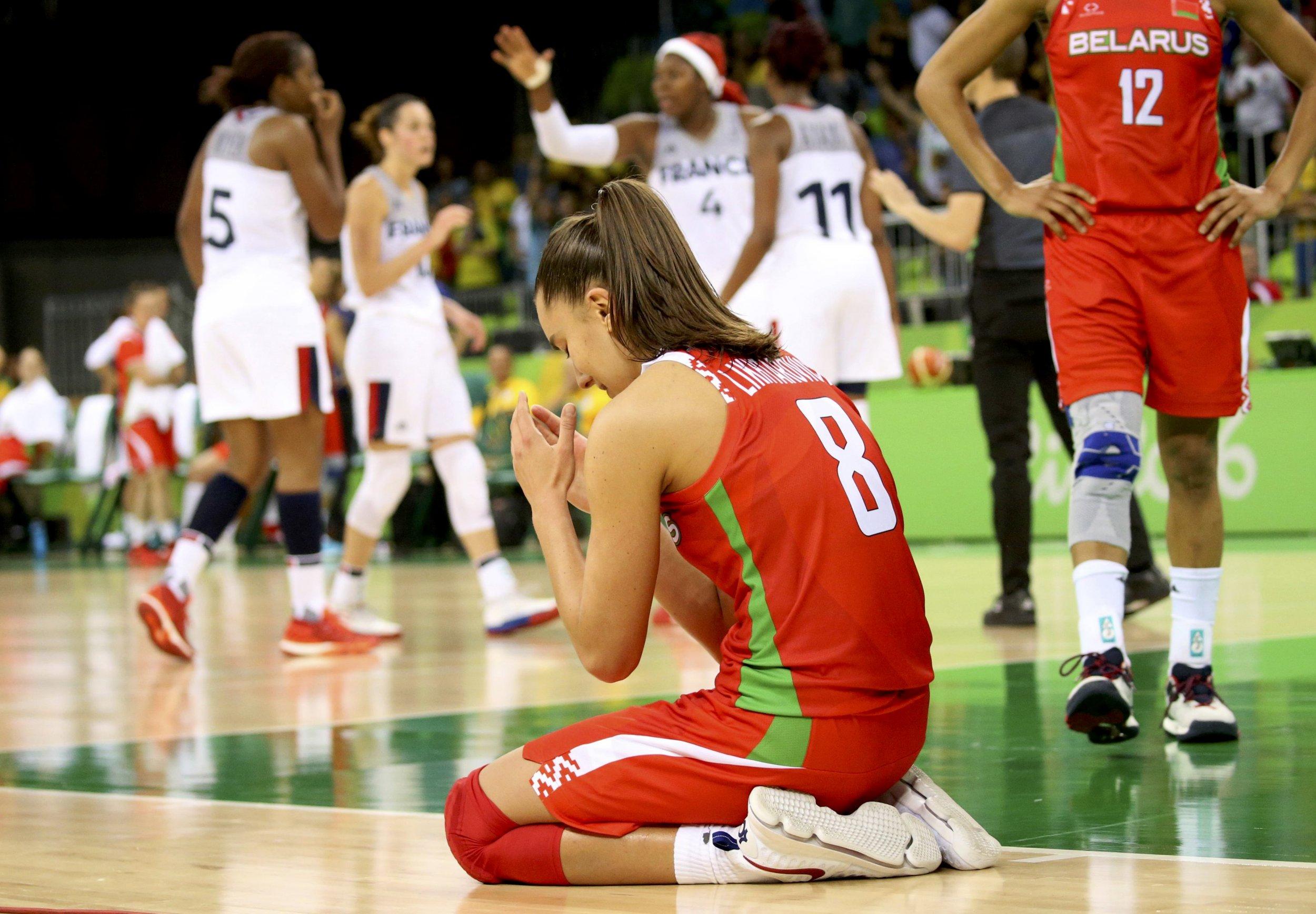 Belarus basketball player