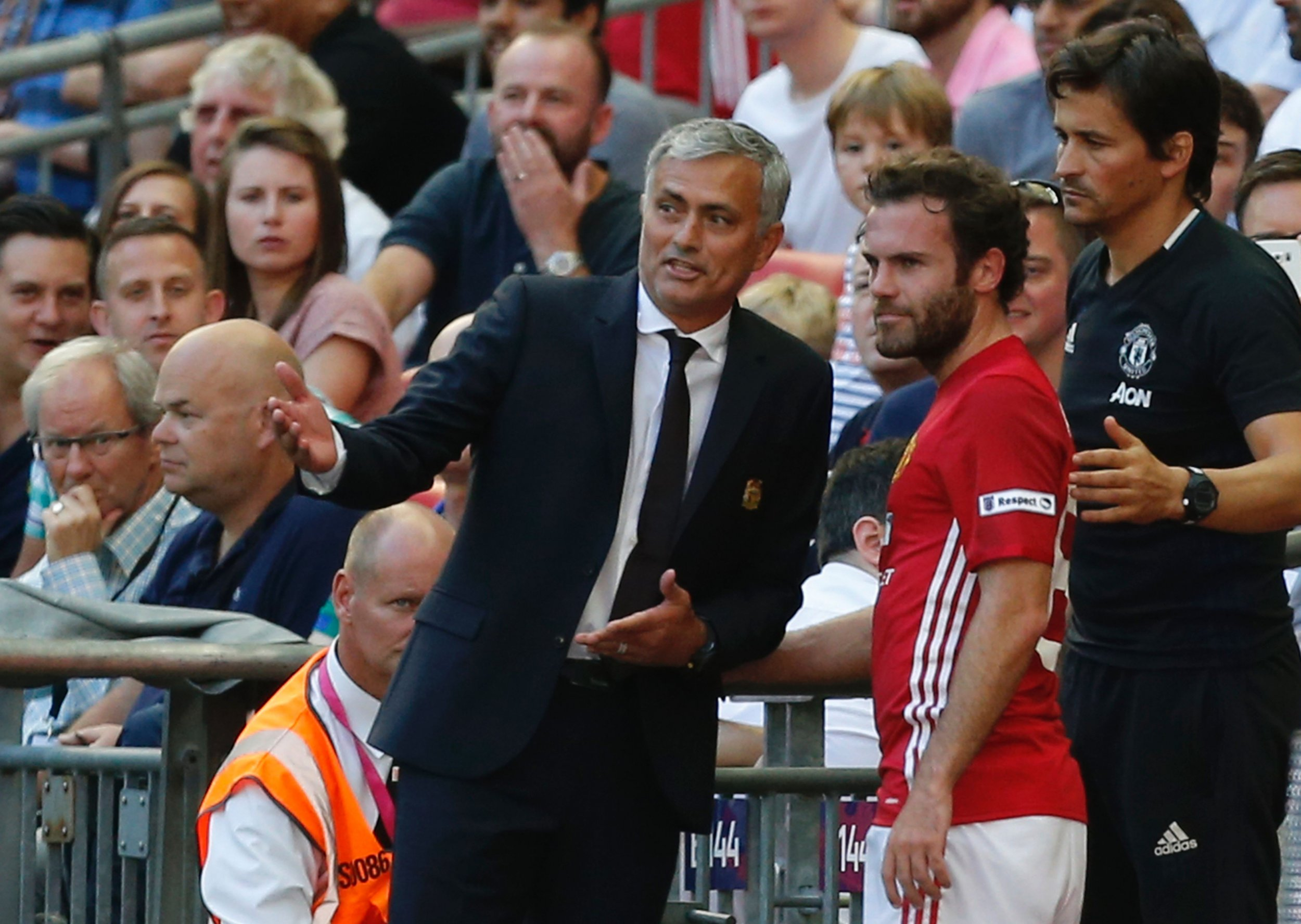Mata reveals family fears over working with Mourinho at United
