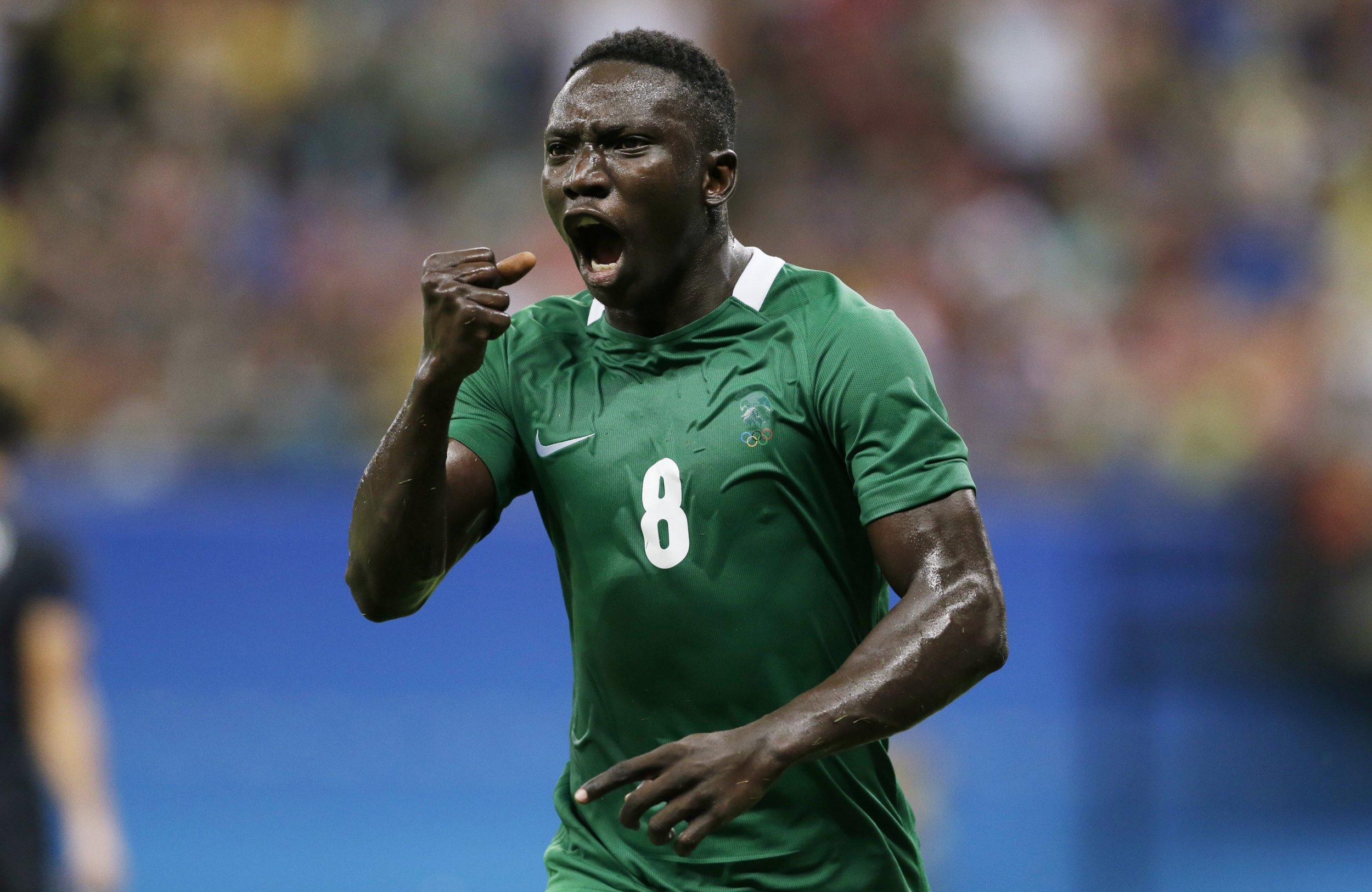 Nigeria's Oghenekaro Etebo