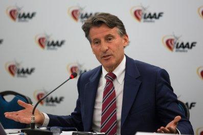 IAAF President Lord Sebastian Coe