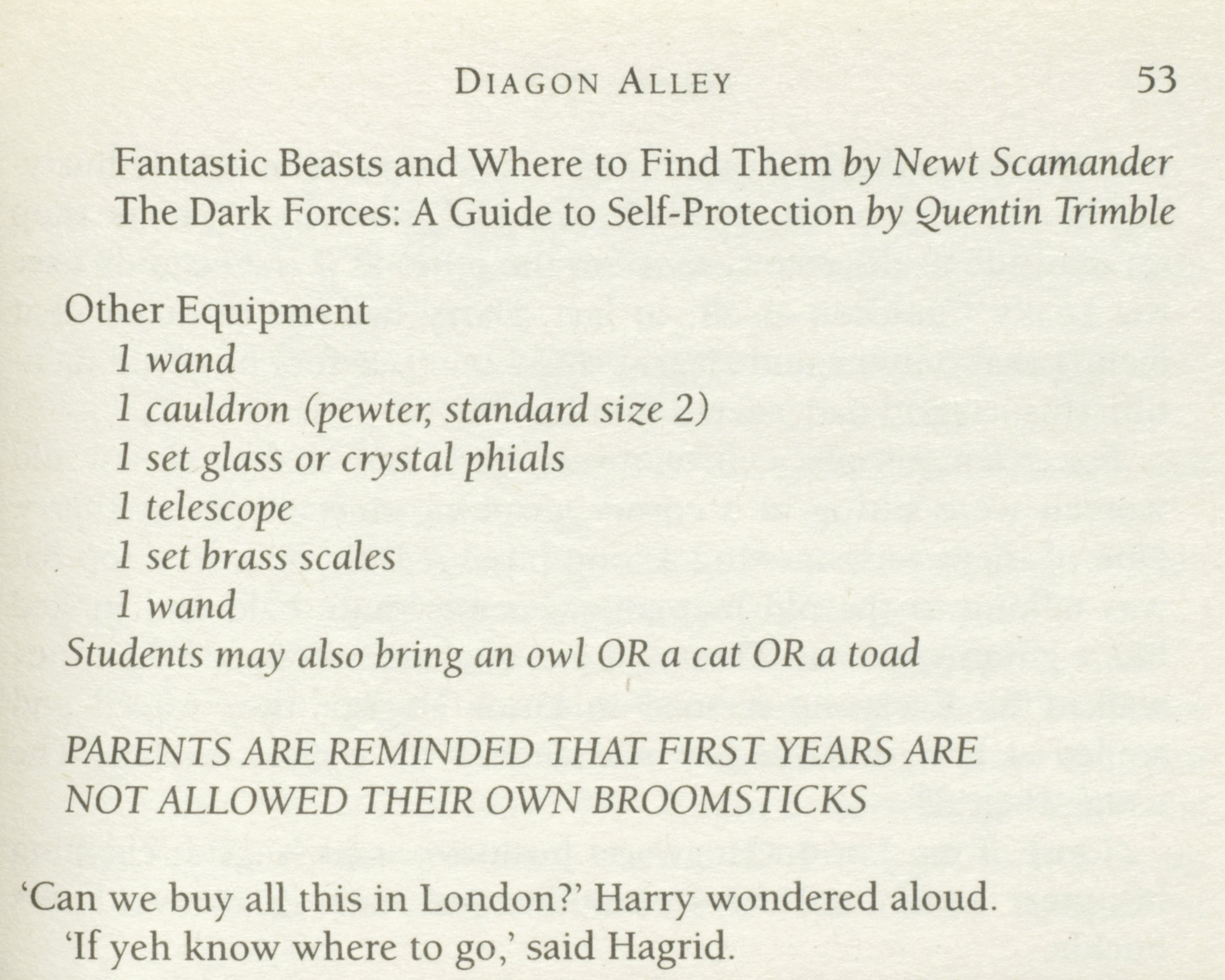 Harry Potter 1 wand