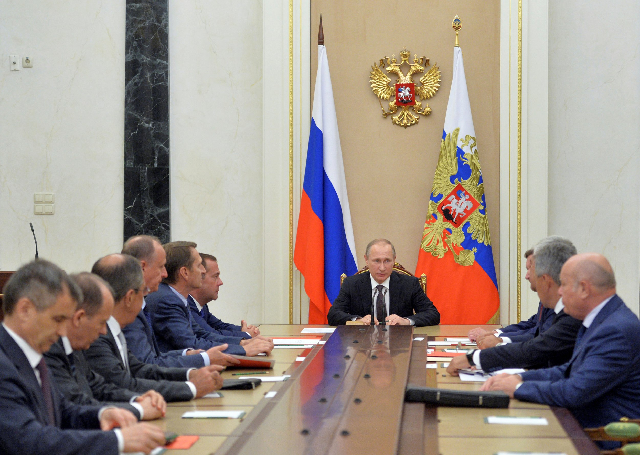 Vladimir Putin and security council