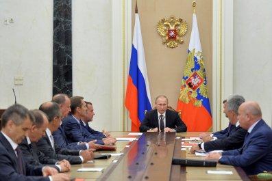 Vladimir Putin and security council