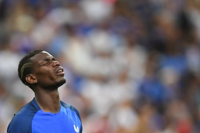 France and Manchester United midfielder Paul Pogba.