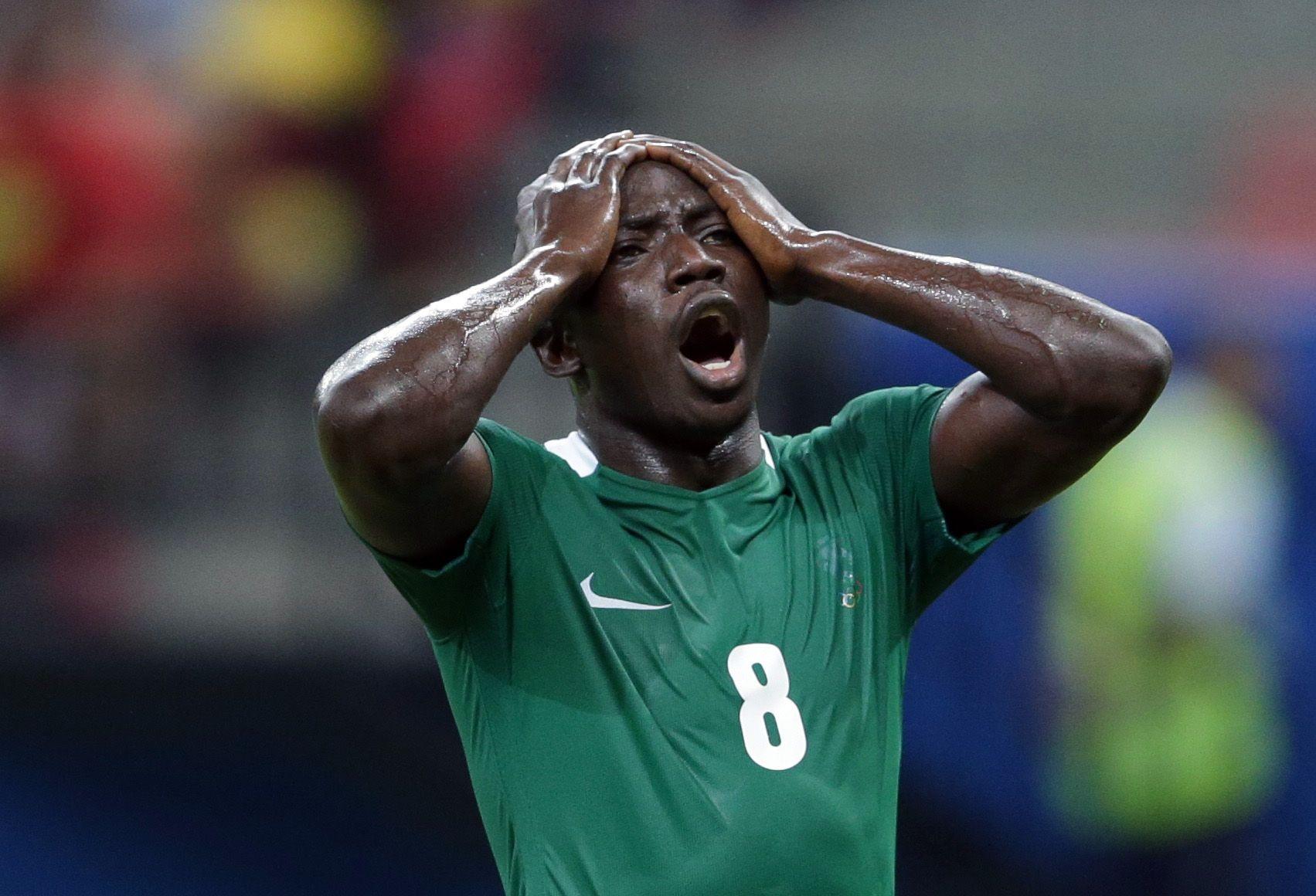 Nigerian footballer Oghenekaro Etebo