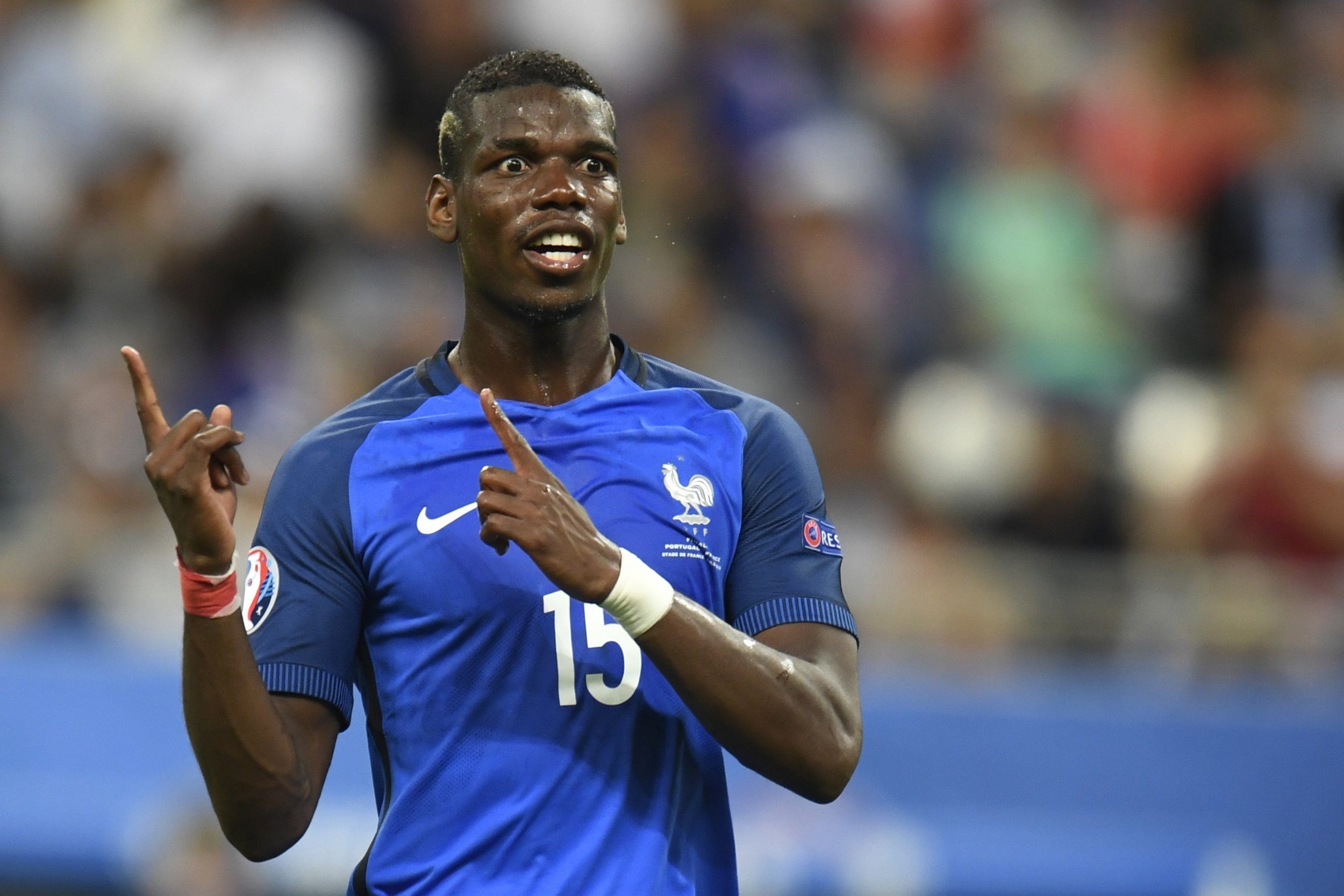 Manchester United and France midfielder Paul Pogba