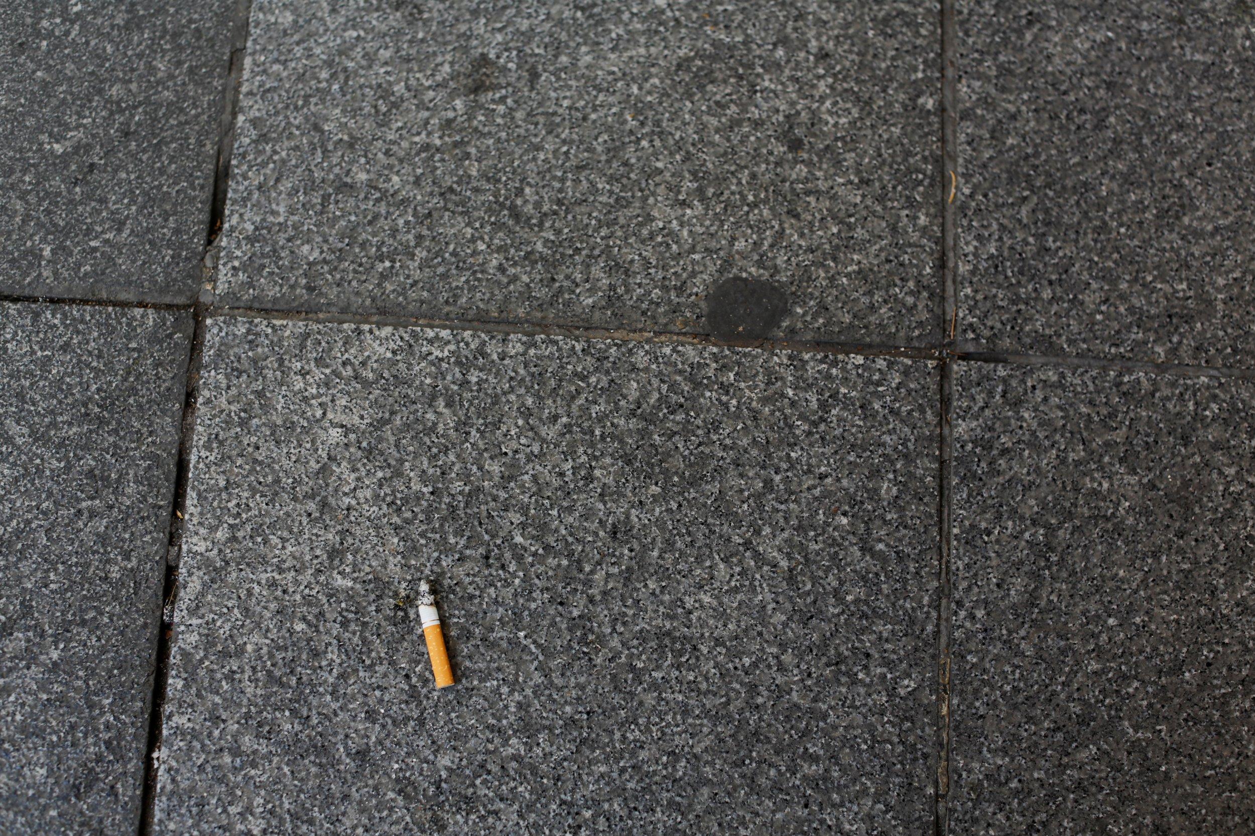 Cigarette-butt