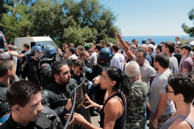 Corsica protests
