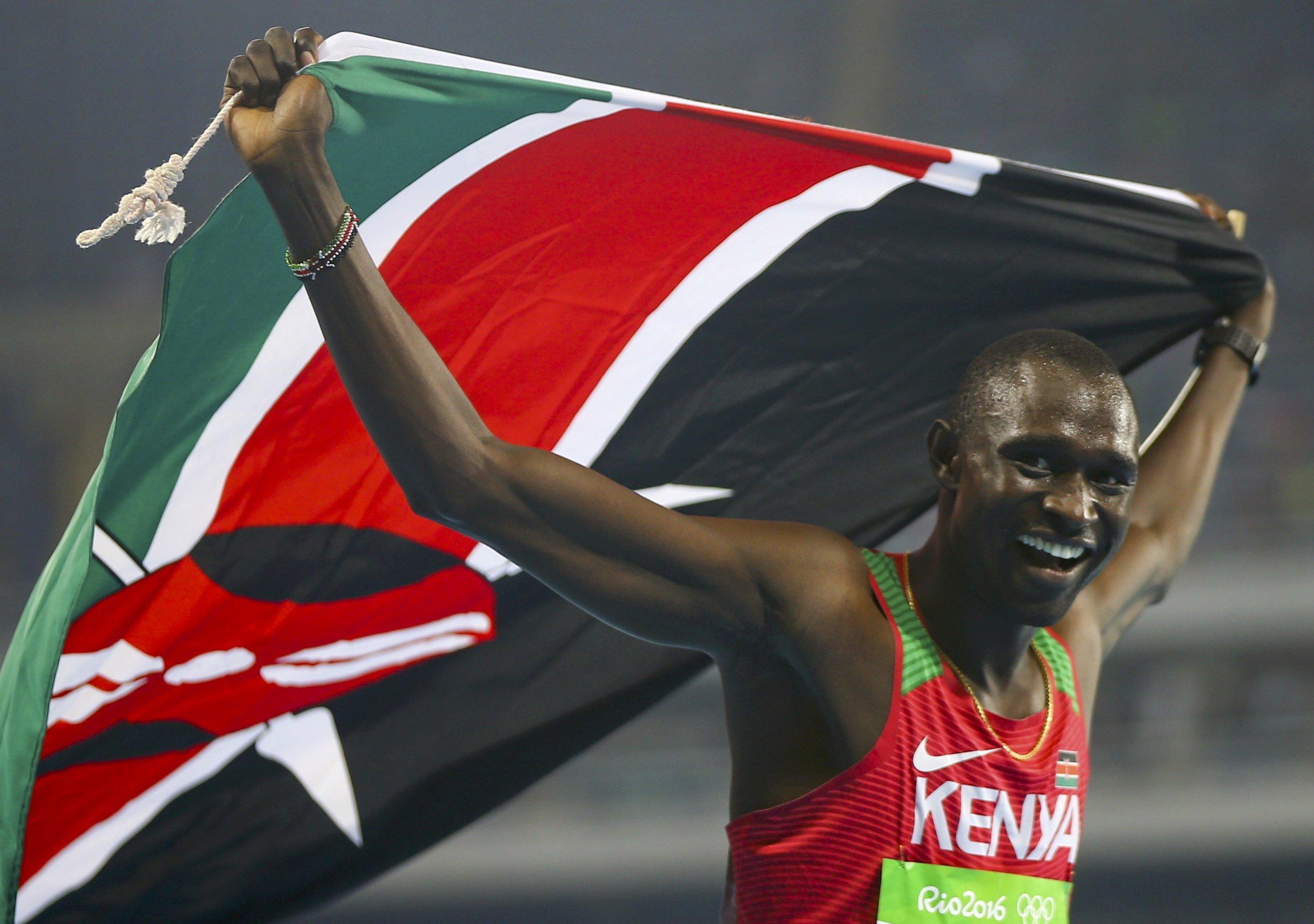 Kenya's David Rudisha