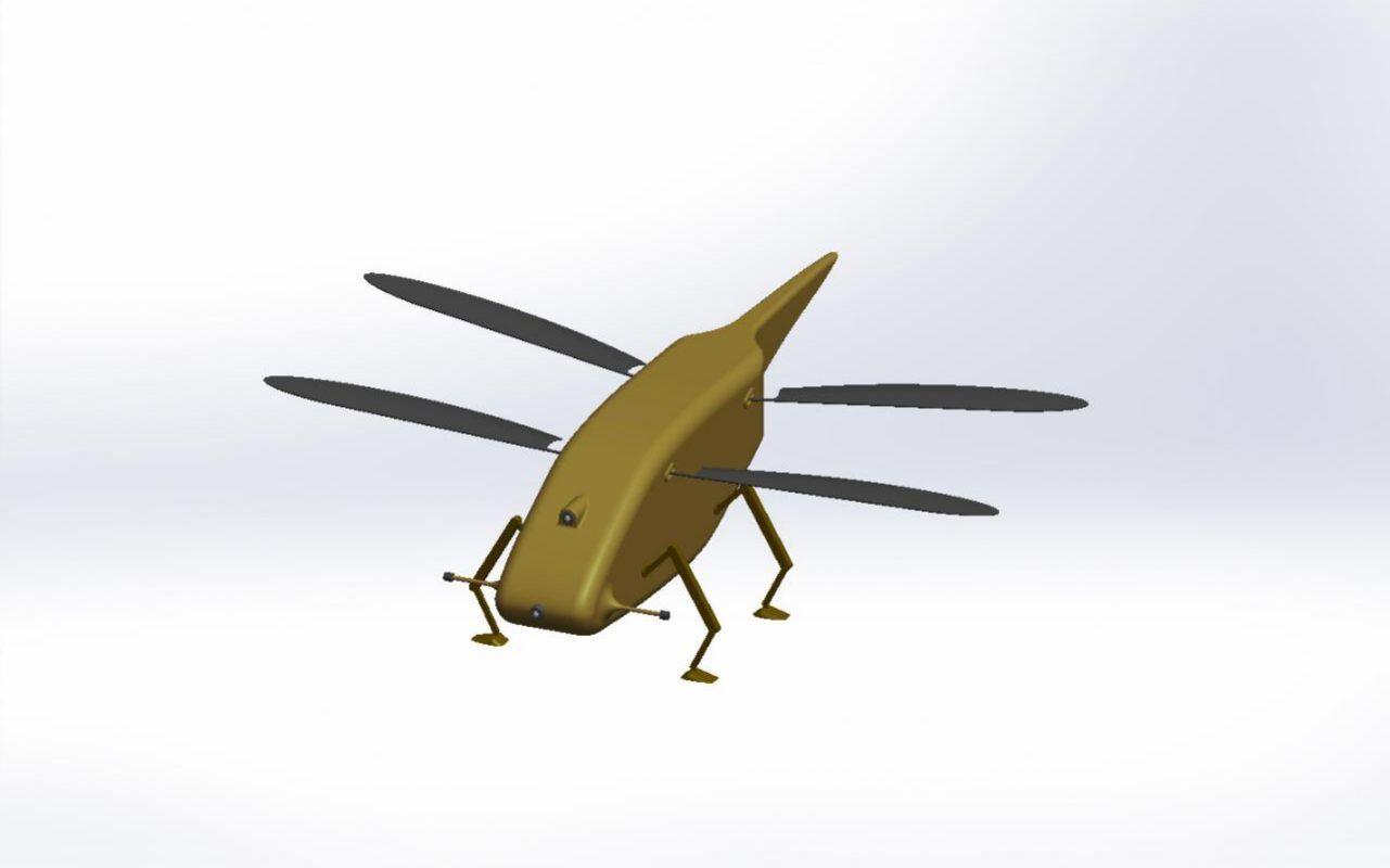 dragonfly drone skeeter animal dynamics