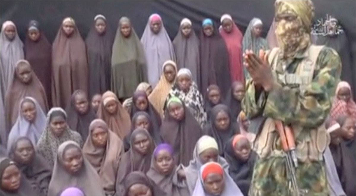 Chibok girls video