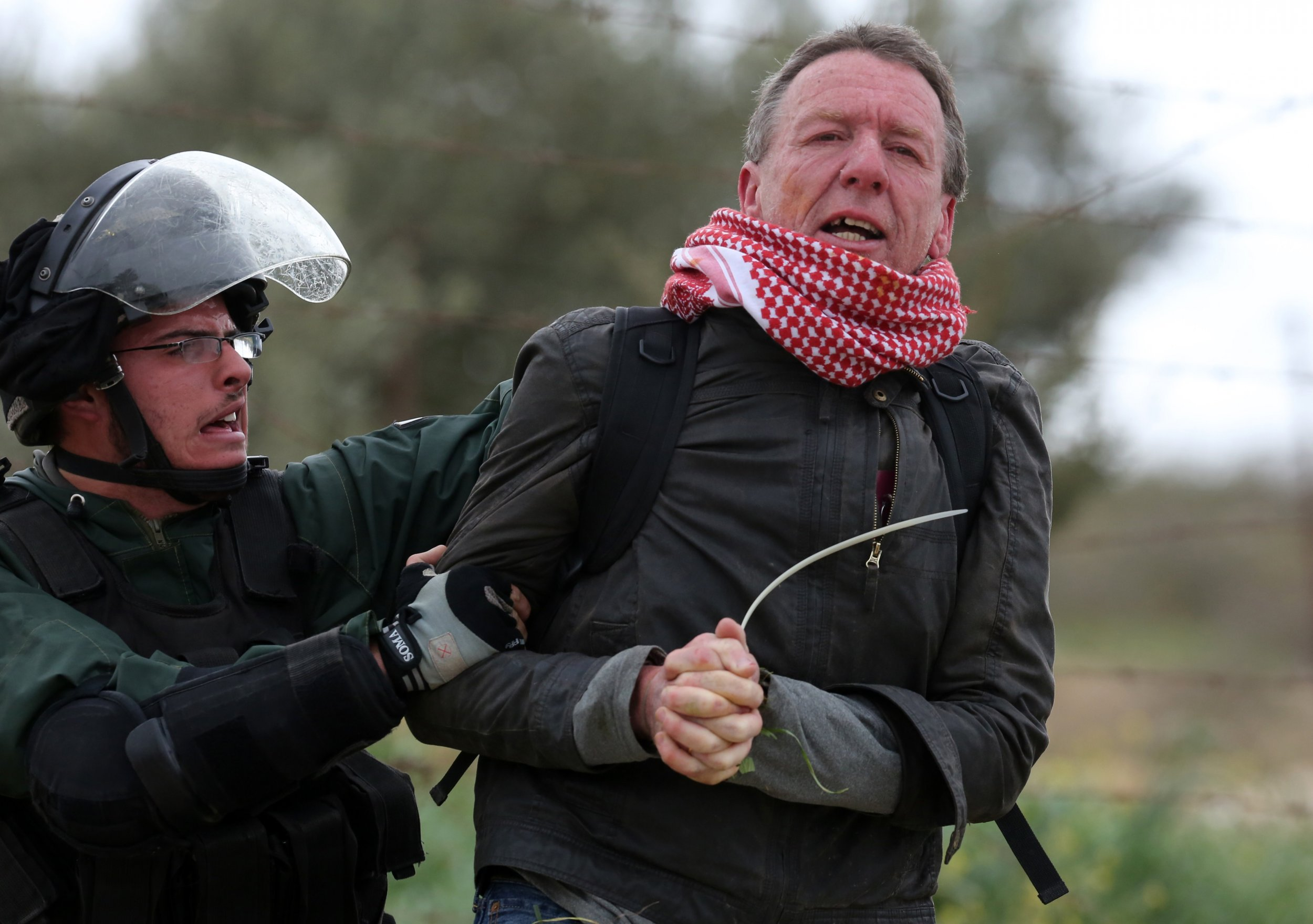 British activist detained by Israeli soldiers in the West Bank