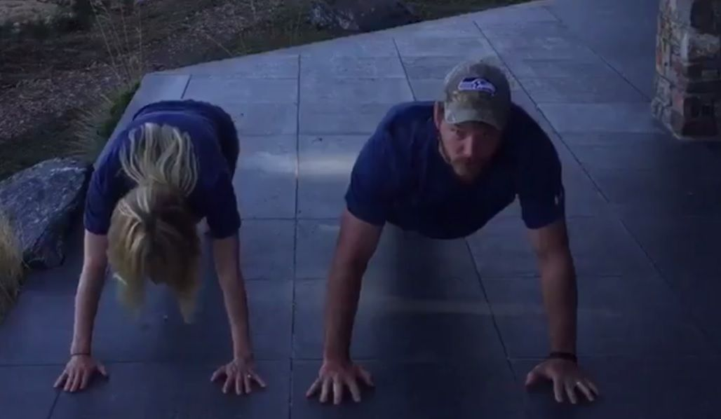 22 Pushup Challenge with Chris Pratt
