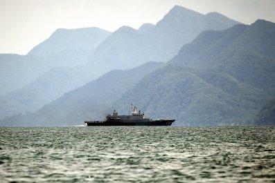 Malaysian navy ship