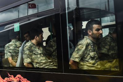 Turkey detained soldiers