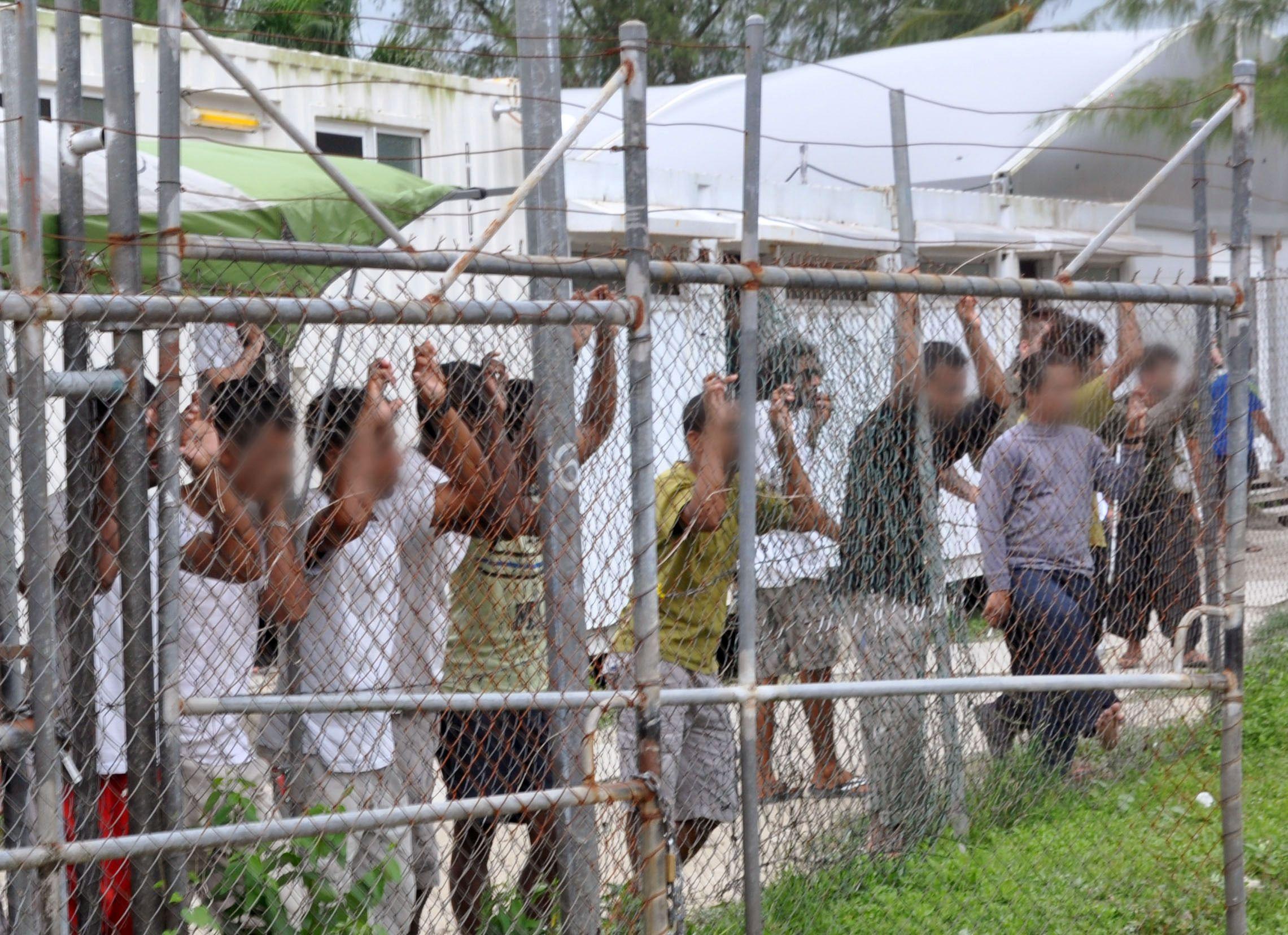 Asylum seekers on Manus Island
