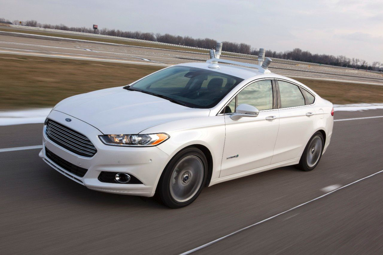 Ford self-driving car driverless taxi