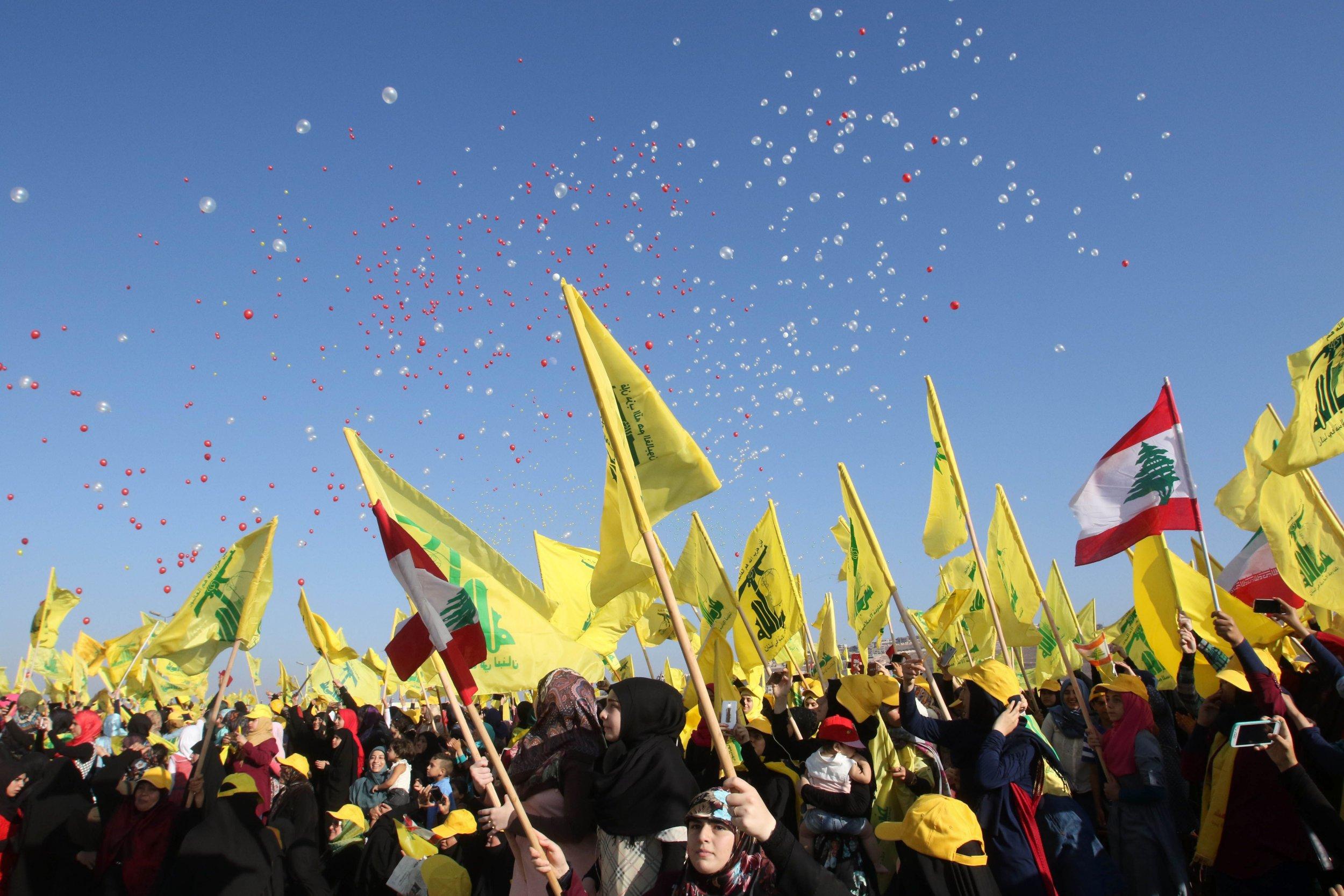 Hezbollah Gaza Strip Middle East