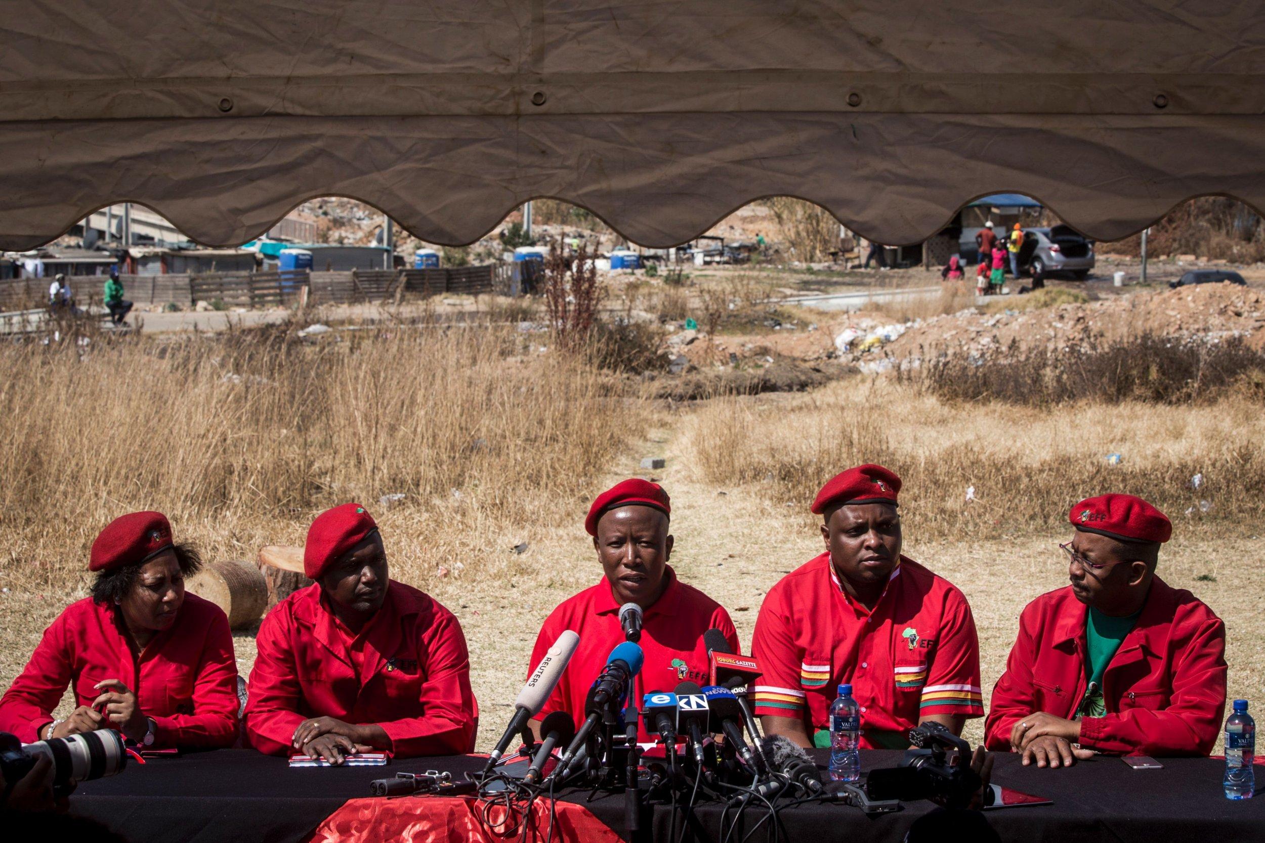 EFF press conference