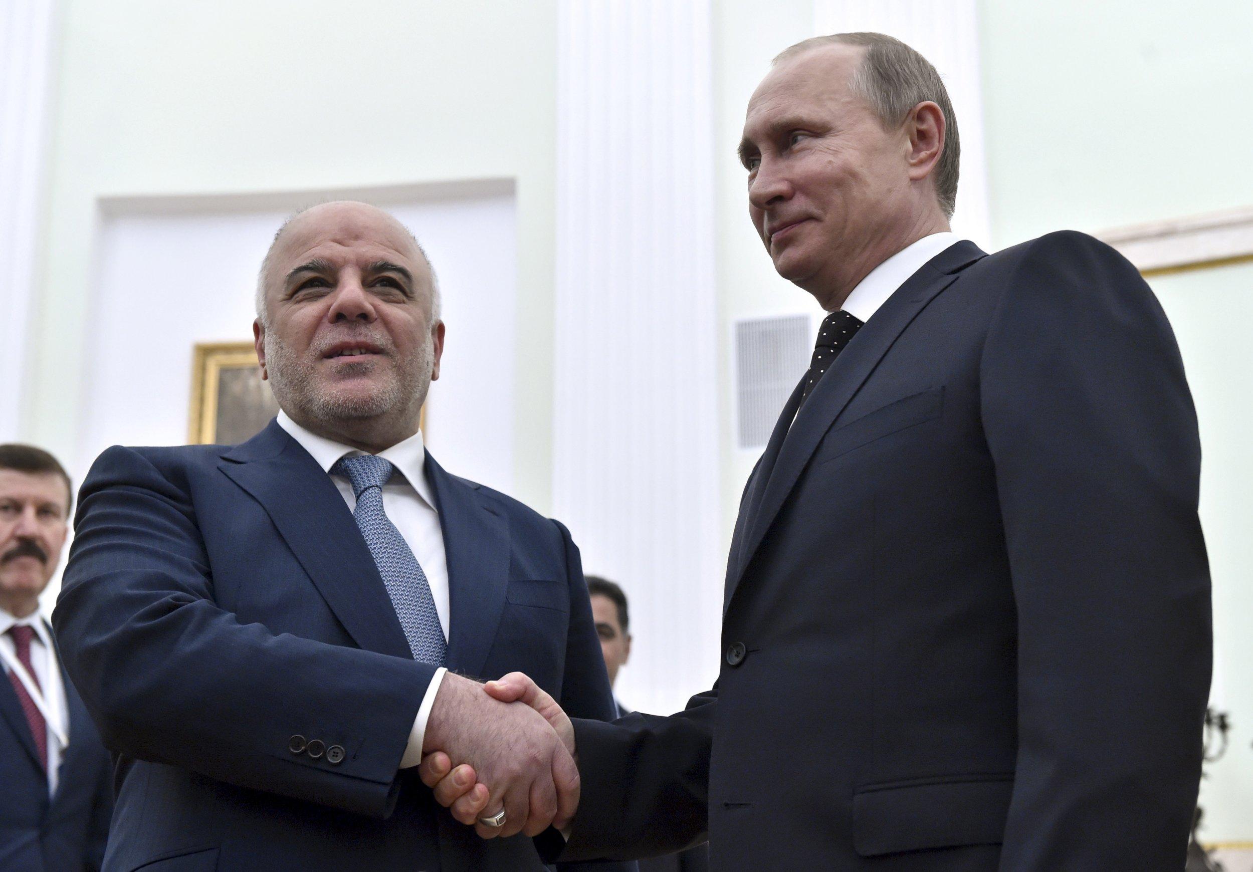 al-Abadi and Putin