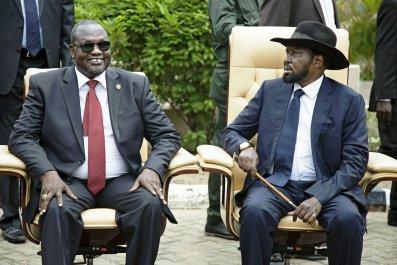 Riek Machar South Sudan Rebel Leader